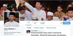 Ultah, Jokowi Dapat 160.000 Ucapan Selamat di Twitter