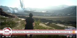 """Terungkap, Tanggal Peluncuran Game """"Final Fantasy XV"""""""
