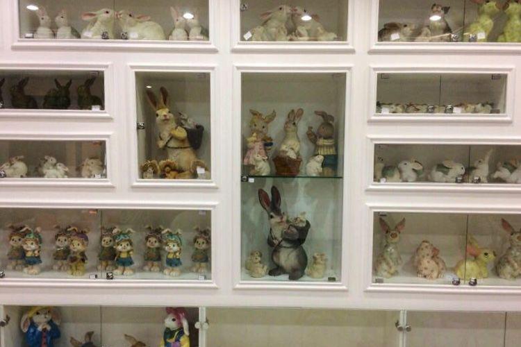 Patung kelinci di Rabbit Town